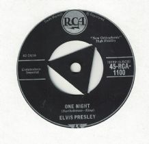 Elvis Presley - One Night c/w I Got Stung (RCA 1959 UK Release)
